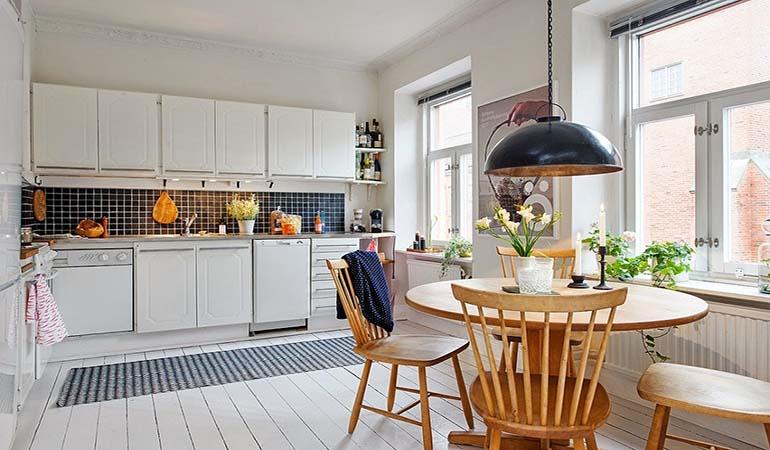 Những ý tưởng bàn ăn cho nhà nhỏ độc đáo và tiết kiệm diện tích