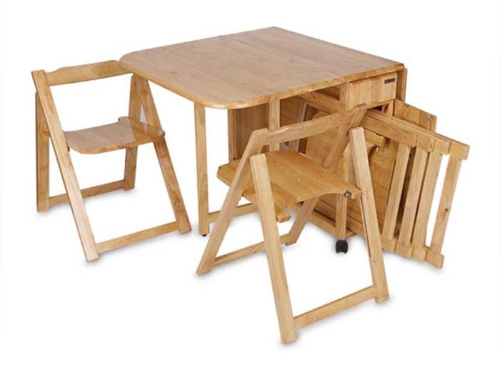Những ý tưởng bàn ăn cho nhà nhỏ độc đáo và tiết kiệm diện tích -10