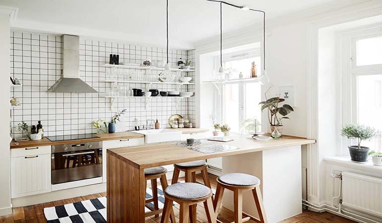 Top 15+ bộ bàn ăn cho phòng bếp nhỏ siêu tiết kiệm diện tích