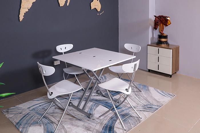 Bộ bàn ăn cho phòng bếp nhỏ đủ chỗ cho 4-8 người