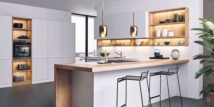 Thiết kế phòng bếp cần chú trọng tính ngăn nắp