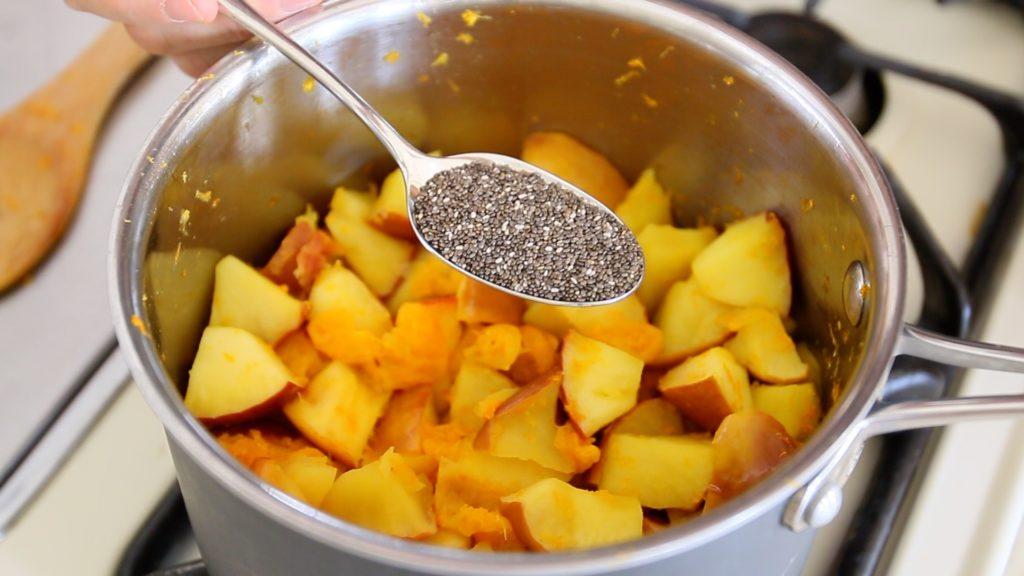 Sinh tố trái cây bổ sung vitamin C cho bé