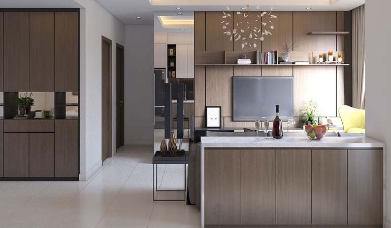 Trang trí nội thất phòng bếp theo phong cách hiện đại xu hướng 2021
