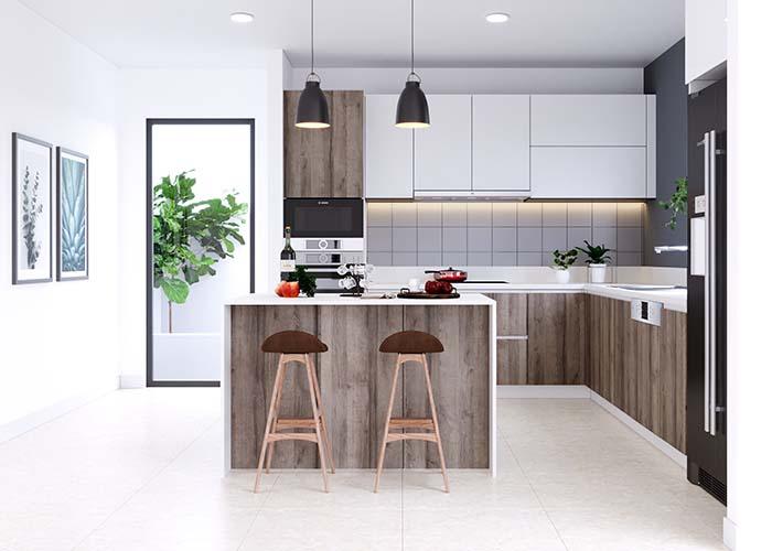 Những gam màu trung tính trong thiết kế nội thất hiện đại