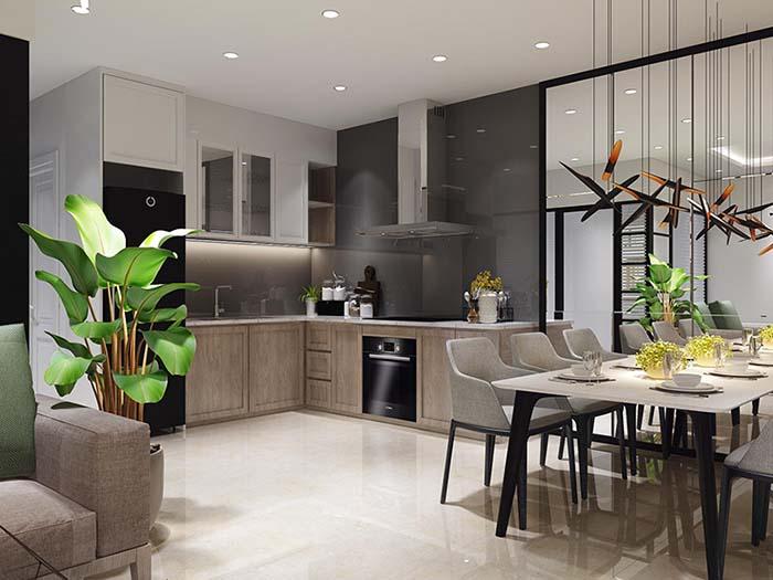 Xu hướng mang không gian xanh vào nhà bếp