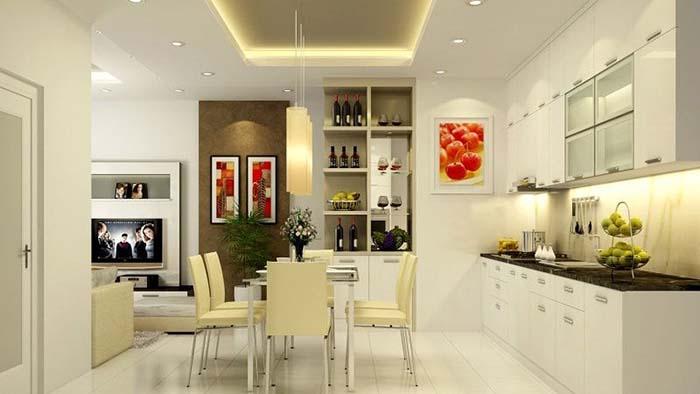 Kiểu nhà ống chuộng phong cách trang trí nội thất đơn giản