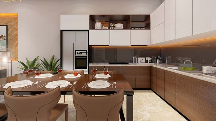 Nhà bếp phong cách hiện đại