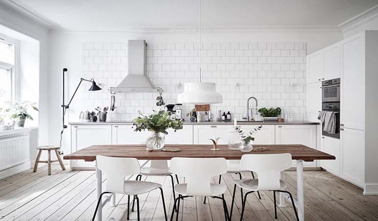 5 mẫu thiết kế nội thất nhà bếp không bao giờ lỗi thời