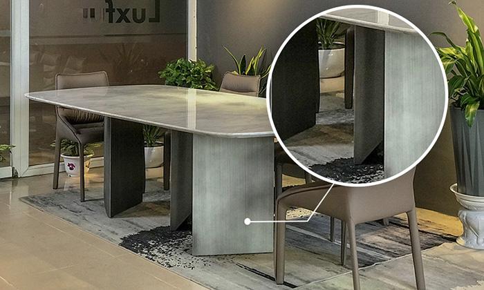 Chân bàn làm từ Inox 304 vững chải