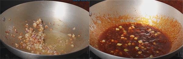 Cách làm cơm lười - Cơm trộn bằng nồi cơm điện